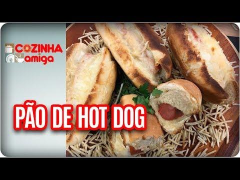 Pão De Hot Dog E Hot Dog Francês - Gabriel Barone | Cozinha Amiga (20/02/1/8)