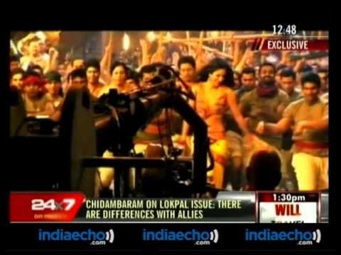 Katrina Kaif's 'Chikni Chameli' Song Making-Chikni Chameli Song Making-2 - Indiaecho.com
