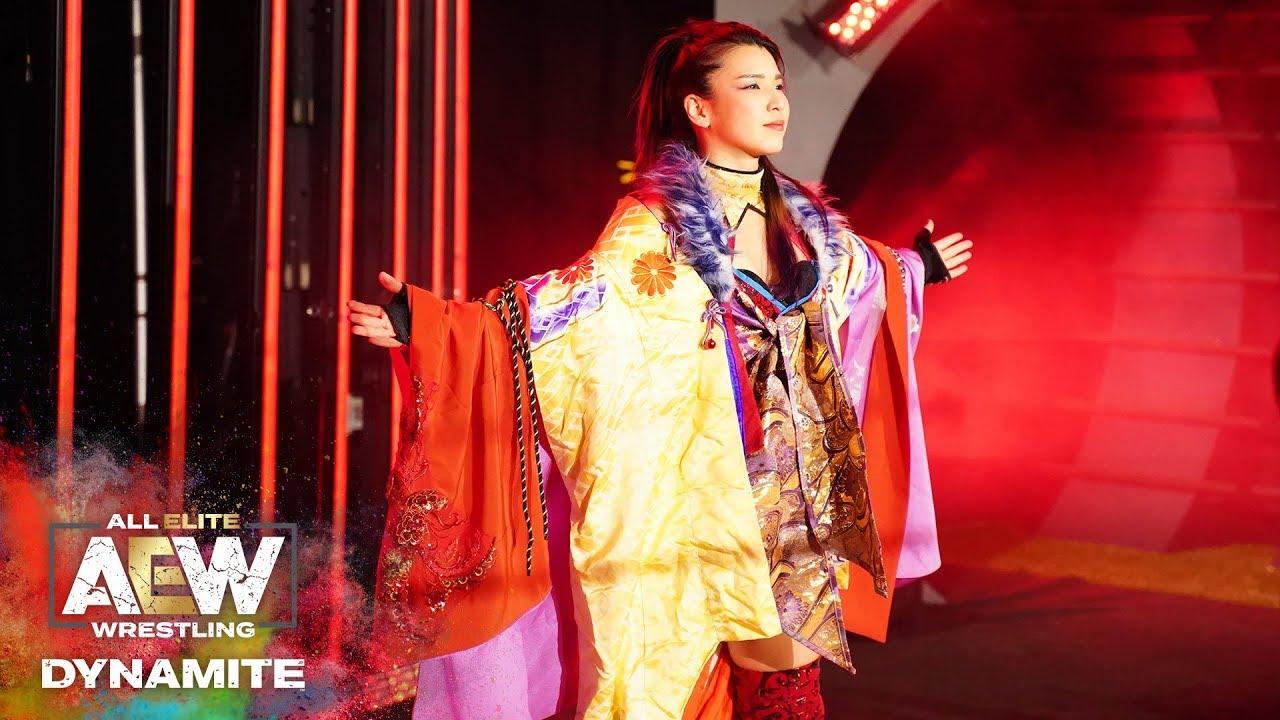 FULL MATCH - ANNA JAYY VS HIKARU SHIDA | AEW DYNAMITE 4/1/20