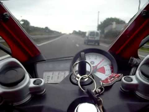 On board Yamaha YZF R125 d'origine