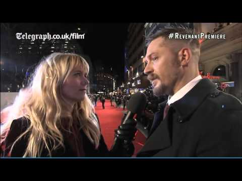 Tom Hardy interviewed at The Revenant UK premiere