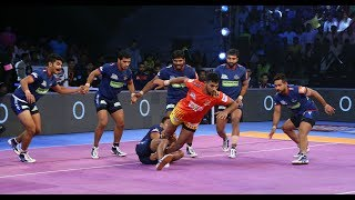 Pro Kabaddi 2018 Highlights | Haryana Steelers Vs  Gujarat Fortunegiants | Hindi
