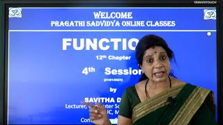 I PUC | Computer science | Functions-04