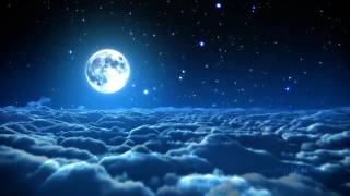 The Lovely Moon: Music for Dreams (relaxing ambient music and cloudscape)
