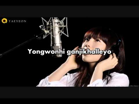 [KARAOKE] Taeyeon - Missing You Like Crazy (King 2 Hearts OST)