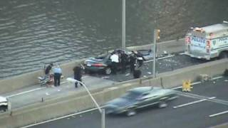 Accident on the Westside Highway scene 3