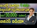 Home Based Business Idea-40 Rupees Investment Without Loss Monthly Earning Rs:30000/By Go Moneyworld
