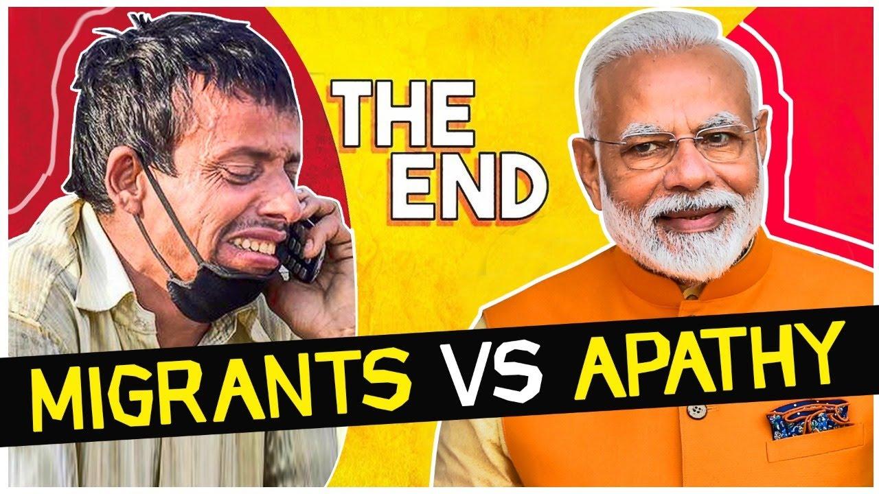NOT Tiktok vs YouTube, it's Migrants vs Apathy!! | The Deshbhakt's - #RoastChallenge for C