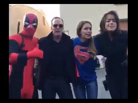 DUBSMASH WARS FOR CHARITY:  Supergirl & Agents of S.H.I.E.L.D and more
