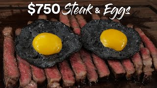 The Insane $750 Steak & Eggs Experience | Guga Foods