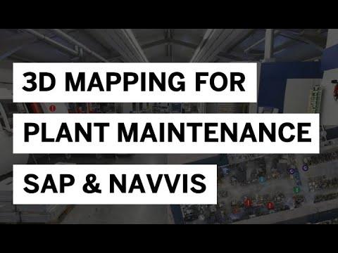 Maintenance Planning in SAP Intelligence Asset Management augmented by NavVis IndoorViewer