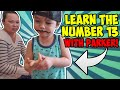 أغنية Learn The Number 13. Learn To Count To 13 With Parker.