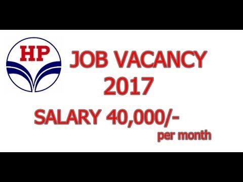 JOB VACANCY in Hindustan Petroleum  2017