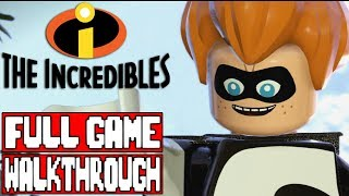 LEGO THE INCREDIBLES Gameplay Walkthrough Part 1 FULL GAME - No Commentary