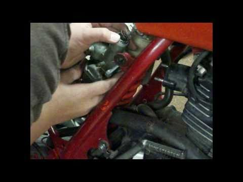 How To Clean Honda 1800-2000 Dirtbike Carb (Part 3)