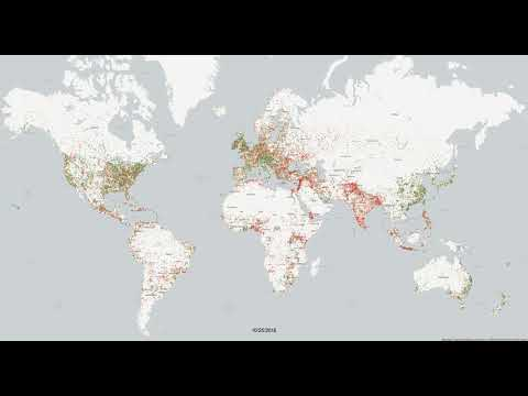 Mapping World Happiness 2015-2018 Through 850 Million News Articles