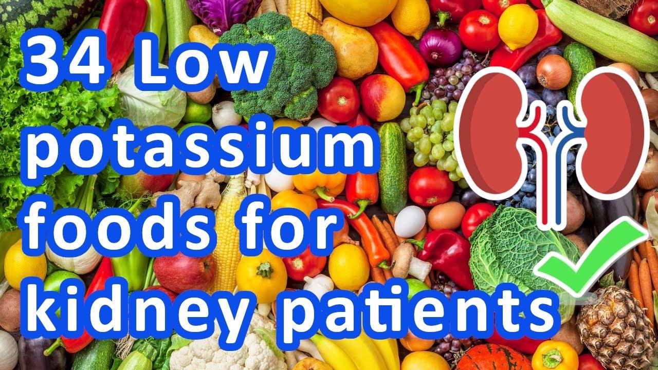 what is a low potassium diet
