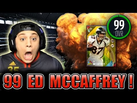MCCAFFREY GOTTA STEP ON HIM DEEP!! (99 ED MCCAFFREY GAMEPLAY) - MADDEN 17 ULTIMATE TEAM