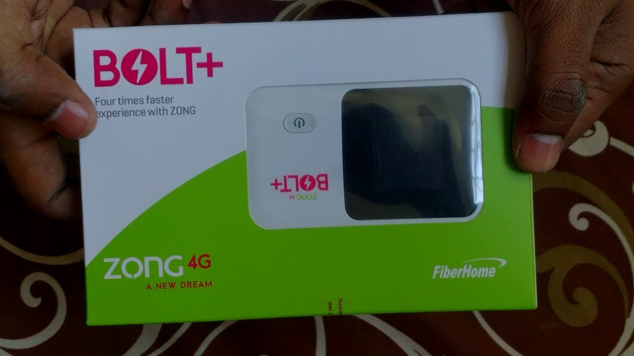 Zong 4g Bolt Fiber Home Complete Unboxing And Review