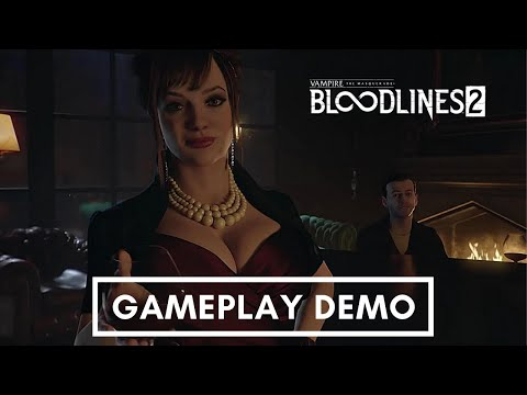 Vampire The Masquerade - Bloodlines 2 - Extended Gameplay Trailer