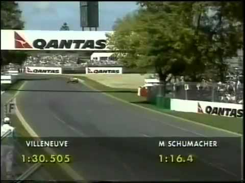 F1 1997 Australian Grand Prix Qualifying