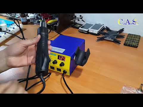 Baku 601D - Паяльная станция, Фен, 2 в одном, обзор, распаковка