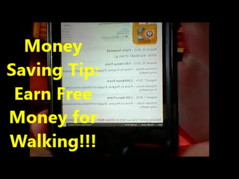 walk to earn money money saving tip earn free money for walking youtube 3226