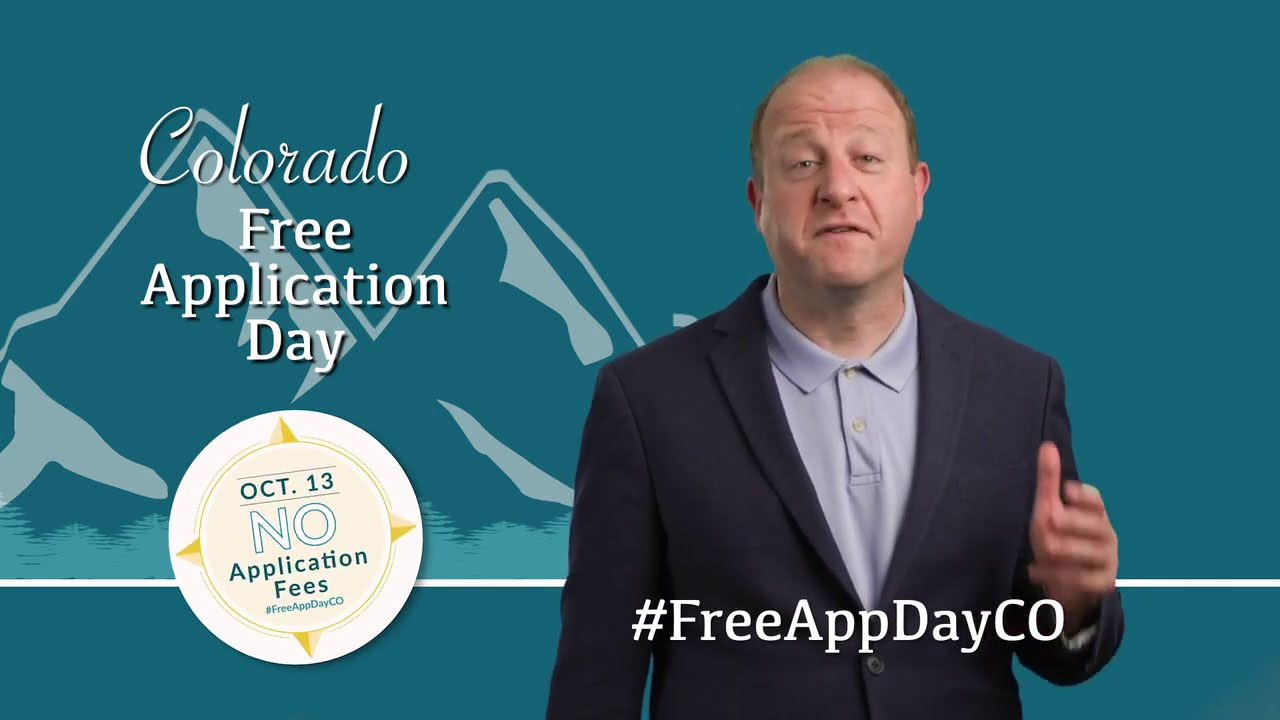 Free App Day PSA from Gov. Jared Polis 1