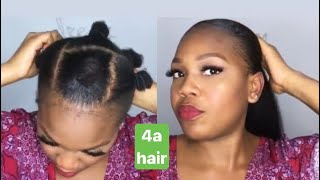 COMMENT PLAQUER SES CHEVEUX COURTS + QUEUE-DE-CHEVAL | SLEEK PONYTAIL