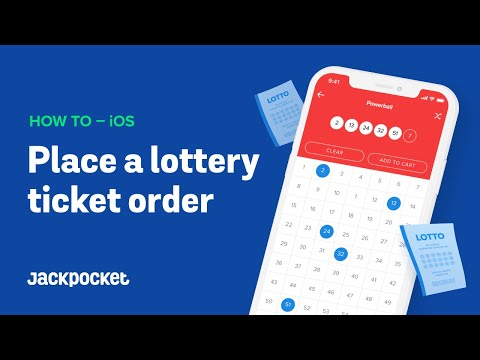 How to Place a Lottery Ticket Order on Jackpocket