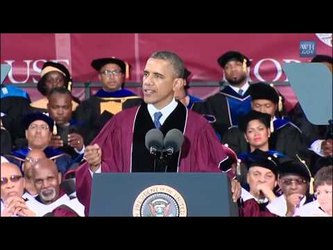 Importance of Empathy -  Barack Obama  at Morehouse College  Commencement