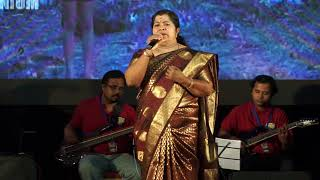 Kathodu kathoram - Lathika teacher on the stage. 2018