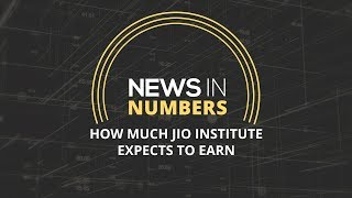 How much Reliance's Jio institute expects to earn: News in Numbers