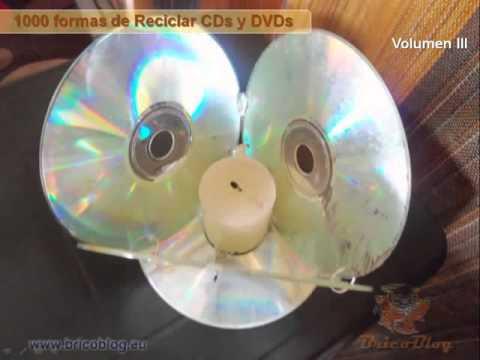 Copia de 1000 ideas creativas para manualidades reciclado - Estanterias para cd y dvd ...