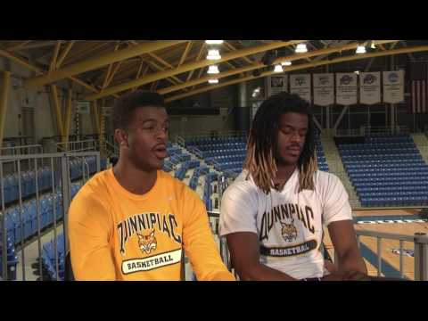 Feature  Quinnipiac Men's Basketball's Aaron and Andrew Robinson