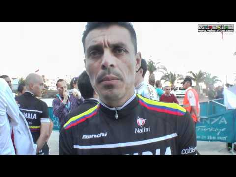 Victor Hugo Pena Interview - Tour of Turkey, Colombia Coldeportes and more