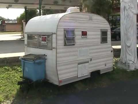 OLD 1968 SCOTTY CAMPER TRAILER