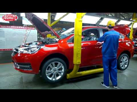 Как делают китайские автомобили и моторы на заводе Chery!