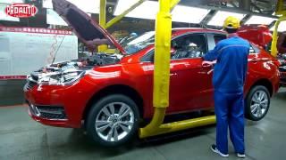 Как делают китайские автомобили и моторы на заводе Chery!(, 2017-02-12T23:18:28.000Z)