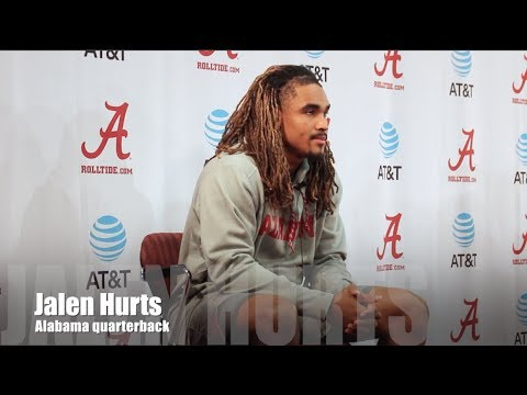 Alabama QB Jalen Hurts on facing Auburn