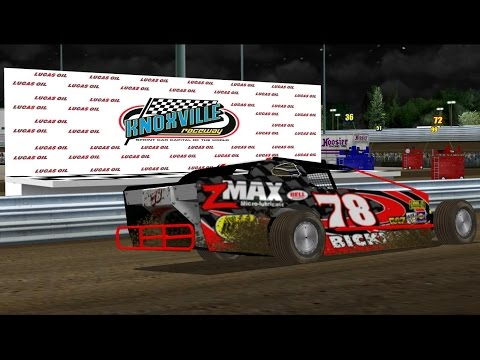 Dirt Modifieds @ Knoxville Raceway   NR2003 LIVE STREAM EP180