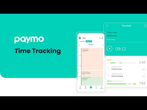 How to track your time in Paymo