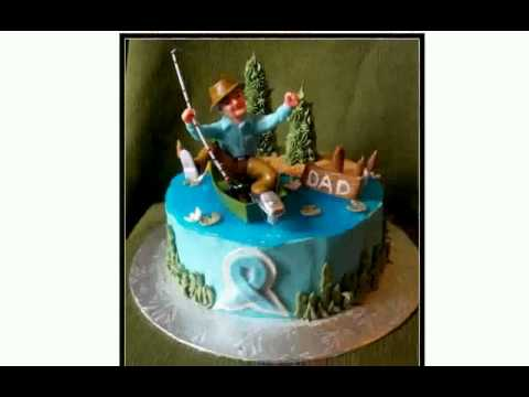 Fishing Cake Decorations [chocaric]