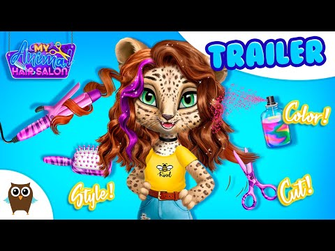 Join Style Adventures Of Leopard Amy 😻 My Animal Hair Salon   TutoTOONS Cartoons & Games For Kids
