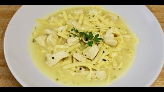 Creamy Chicken Noodle Soup with Michael's Home Cooking