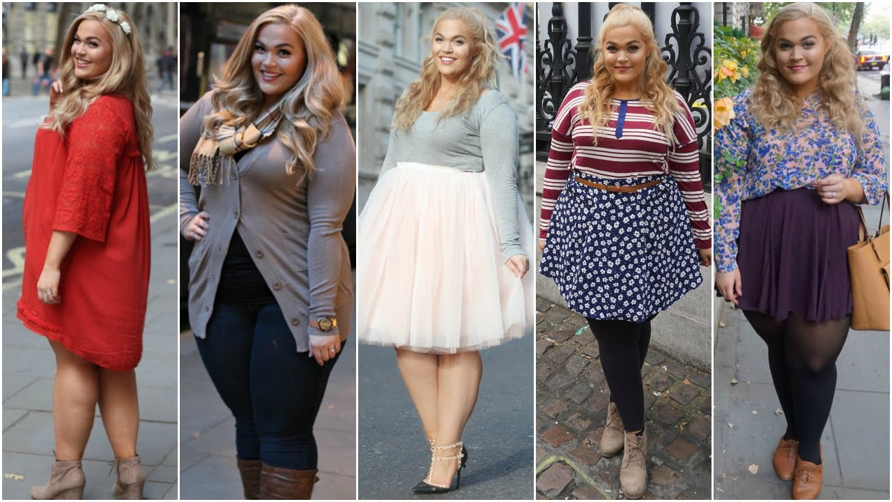 Fall 2015 | Plus Size Lookbook + Follow Me Around London