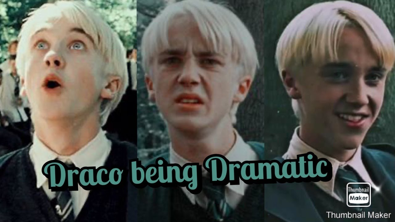 Download Draco Malfoy being dramatic for 6 minutes straight