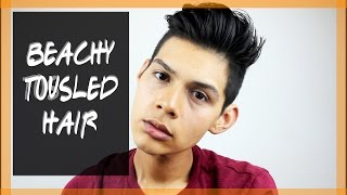 Tousled Beach Hair Tutorial feat. Hanz De Fuko Quicksand | GIVEAWAY! (Closed)