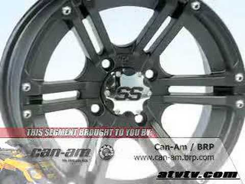 ATV Television Product Review - ITP SS212 Wheels