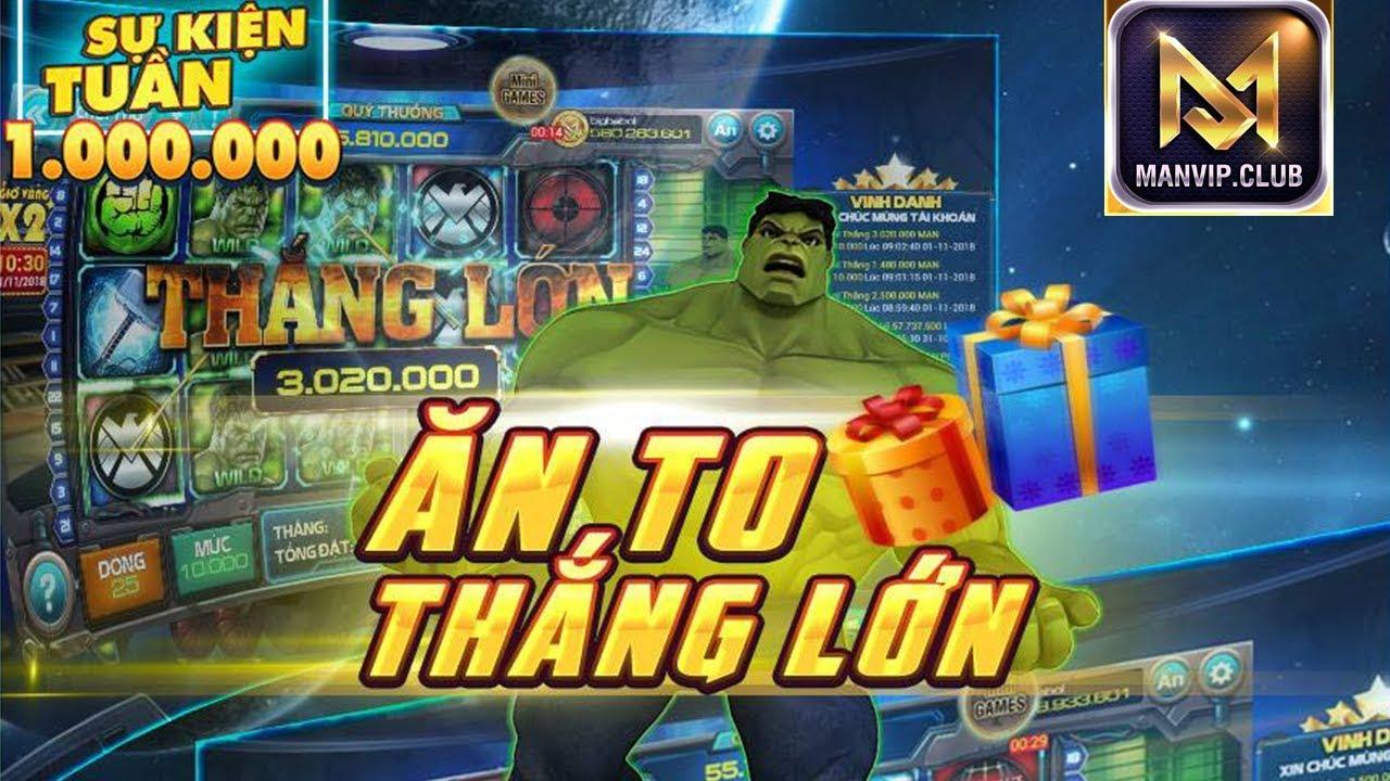 ManVip Club Nổ Hũ 50 Triệu - Link Tải Game Man Vip Cho